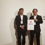 En Nik & En Razis with the GDA Certificate